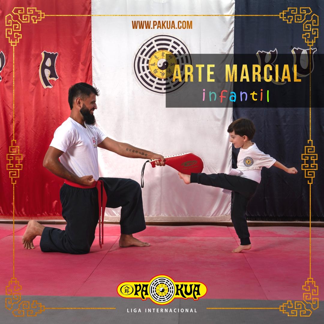 arte marcial niños